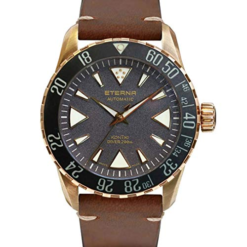Eterna Men's KonTiki Diver L.E 300 PCS 44mm Automatic Watch 1291-78-49-1422