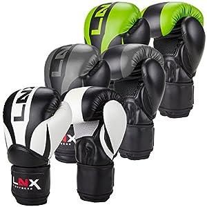 LNX Boxhandschuhe Nitro 8 10 12 14 16 Oz - Männer, Frauen, Kids Kickboxen...