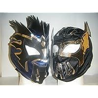 Azul-Kalisto y negro sin cara-para Zip Up-Máscaras ambos incluidos