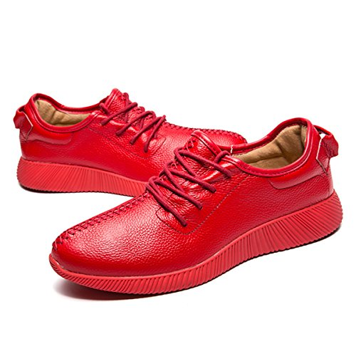 Miyoopark , Chaussures bateau pour homme red