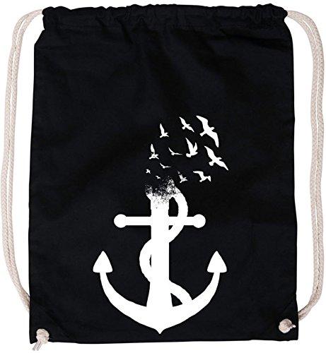 Billabong-strampler (EZYshirt® Anker Ocean Baumwoll Stoffbeutel)