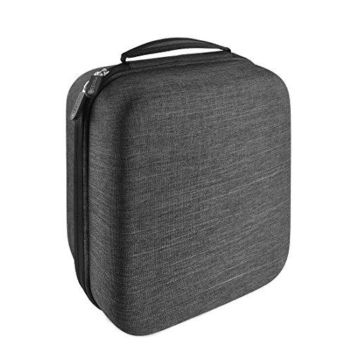 geekria ejb35Große Hard Shell L Kopfhörer, der Fall für Over-Ear, DJ, Gaming Kopfhörer/Schutz Headset Reisetasche mit Platz für Zubehör (dunkel grau) (Ohrhörer Mit Mix)