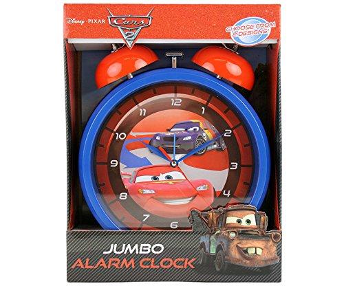 XXL Disney Cars Kinderwecker blau Uhr Wecker Kinderuhr Lightning McQueen (Cars Disney Wecker)