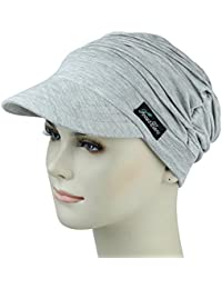 dc56977b9bb FocusCare Soft Hats for Chemo Women Bamboo Baseball Cap Hair Loss Turbans