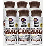 Zago Body Buddy Chocolate 20gm Protein Shake(Pack of 6 Bottles, 20gm Protein, 330ml)