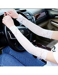 Été cicatrices de couverture de protection solaire cicatrices extensible faux tatouage manches manches bras manchette en dentelle
