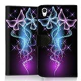 Wallet Book Style Flip Handy Tasche Case Schutz Hülle Schale Motiv Etui für HTC One A9 - Flip UMH14 Design3