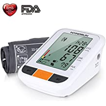 Hangsun Tensiometro de Brazo Digital BM230 Presion Arterial LCD Pantalla con Detección del Pulso Arrítmico,
