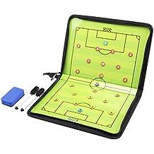 AGPTek Carpeta táctica para entrenador de fútbol con accesorios