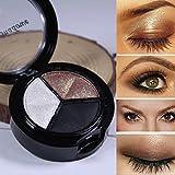 2019,Eyeshadow Palette Glitter vendita calda Fumoso Cosmetico Impostato 3 Colori Professionale Naturale Matte Trucco Occhio Ombra