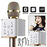 RFV1 (tm) Bluetooth Karaoke wireless mike compatible with all Smart Phones and