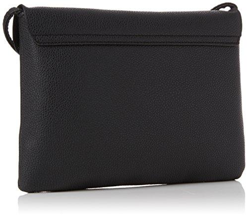 New Look Women's Flora Cross-Body Bag Black (Black)