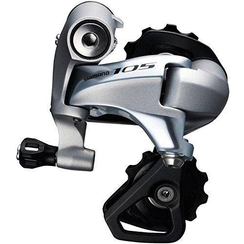 Shimano 105 RD-5800 Schaltwerk 11-fach silber Ausführung mittellanger Käfig 2016 Mountainbike (Rennrad Schaltwerk)