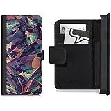 Flip Wallet Case / Klapphülle für iPhone 5 und 5s mit Designer Motiv - ''Marchin'' von Danny Ivan