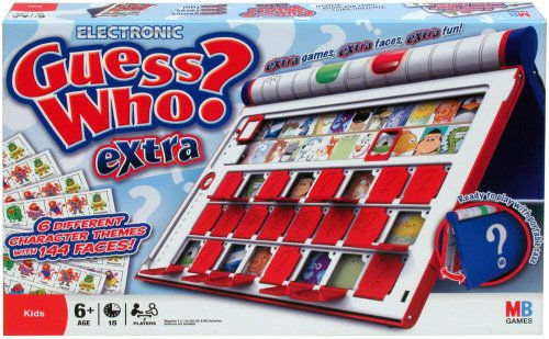 MB Games Guess Who Extra (Anleitung auf Englisch)