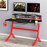 Green Soul Gaming/Ergonomic Table (Black and Red)