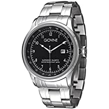 Reloj cuarzo para hombre Giovine Casanova Tempo OGI004/T/MB/SS/NR