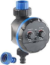Royal Gardineer Bewässerungsschaltuhr: Elektronische Bewässerungsuhr, bis 7 Tage (Zeitschaltuhr Wasser)