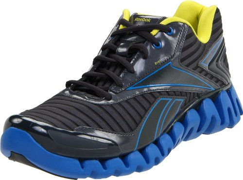 Reebok Zigactivate, Chaussures de running homme Gris (Gravel/Blue/Sun Rock)