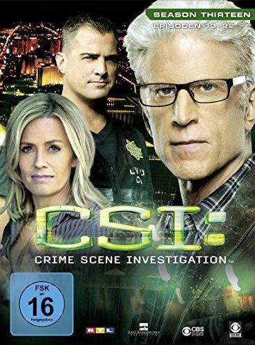 CSI: Crime Scene Investigation - Season 13.2 [3 DVDs]
