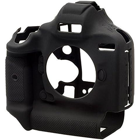 EasyCover Silikon Armor Skin für DSLR Kamera Canon EOS 1DX Kamera, MKII. Schwarz Tasche.