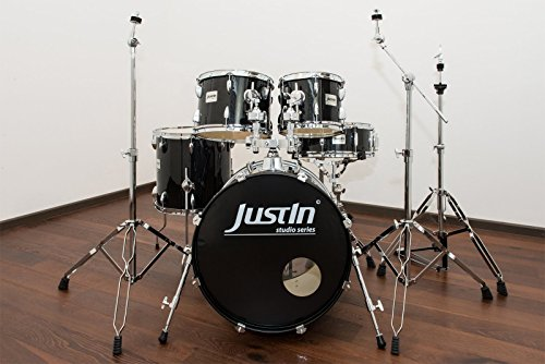 studio-series-20-drum-bundle-black-sp-20bd-10tt-12tt-14ft-14sn-con-piatti-hardware