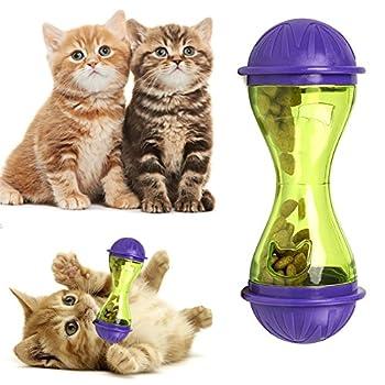 espeedy chat chien Feeder plastique drôles Pet Food Distributeur Friandises Balle Chiots leckage alimentaire Jouet
