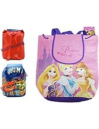 Takestop® - Mochila pequeña para niña con estampado de las princesas Disney: Rapunzel,