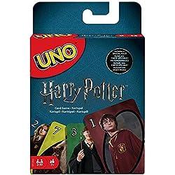 Mattel Games - UNO Versione Harry Potter, Gioco di Carte, FNC42
