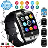Bluetooth Smartwatch Touchscreen Kamera Wasserdicht Smart Uhr Sport Fitness Smart Watch mit Whatsapp Handy Uhr Bluetooth Uhr Intelligente Armbanduhr Kompatibel IOS iPhone Andriod für Herren Damen