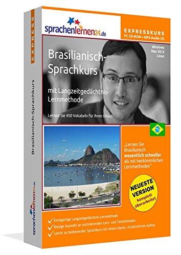 Preisvergleich Produktbild Sprachenlernen24.de Brasilianisch-Express-Sprachkurs PC CD-ROM für Windows/Linux/Mac OS X + MP3-Audio-CD: Werden Sie in wenigen Tagen fit für Ihre Reise nach Brasilien