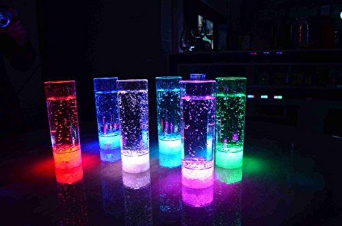 Vasos highball vaso de tubo LED LED retroiluminada de cristal del part