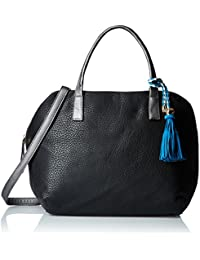 Gussaci Italy Women's Handbag (Black) (GUS061)