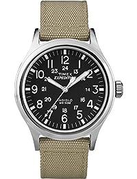 Timex Herren-Armbanduhr XL Expedition Scout Analog Quarz Nylon T49962