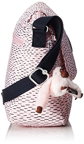 Damen MATHA Umhängetasche Pink (Soft Pink STR) Kipling 286H8n5uA