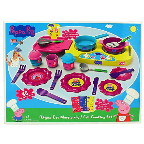 Bildo 8108 Peppa Pig Big Kitchen Set, Mehrfarbig