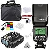 Fomito Godox TT685O TTL 2.4GHz Wireless Master / Externer AutoFlash Speedlite & X1T-O Transmitter Trigger HSS f�r Olympus / Panasonic Kameras Bild