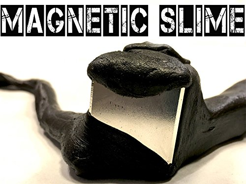 Elmers Sticky (How to make Magnetic Slime!)