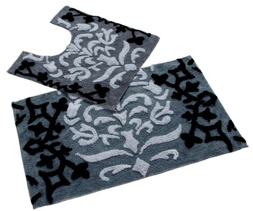 homescapes-damask-bath-mat-and-pedestal-mat-set-black-50-x-80-cm-and-50x55cm-1400-gsm-rug-in-100-cot