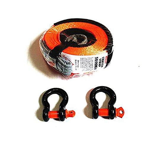 Car Tow Rope 5 Tonnen 5 Meter Abschleppseil Für LKW Snatch Strap Offroad Abschleppseile Anhänger Winch Cable Belt Auto Traktion,Orange