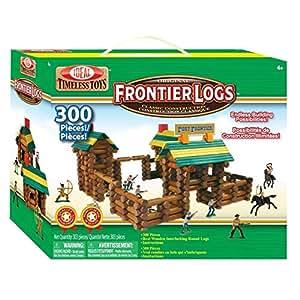 300 Piece Frontier Logs Building Set