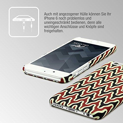 iPhone 6 / 6s Coque, Urcover Étui Mandala PC Rigide [Motiv Motiv 9] Téléphone Smartphone Apple iPhone 6 / 6s Housse Antichoc Case Motif 18