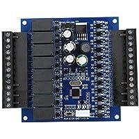 【�������������� ���� ���������� ������������】Capacidad 4000 Velocidad de transmisión 19200 predeterminada Control PLC Programable, controlador lógico programable, salida de relé del(Bare board)
