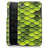 DeinDesign Apple iPhone 3Gs Coque Étui Housse Écailles Vertes
