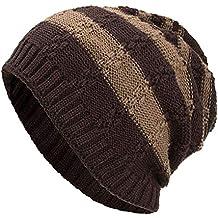 Sombreros de Gorrita Tejida Grueso, Suave y cálido Mujeres y Hombres -