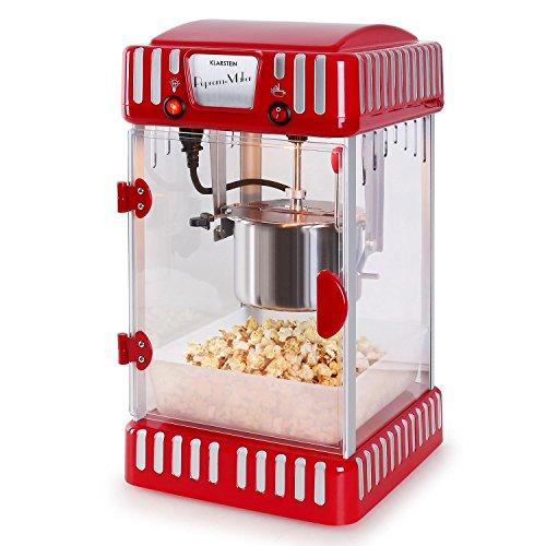 Klarstein Volcano Popcornmaschine Retro-Design mit Innenbeleuchtung - 7