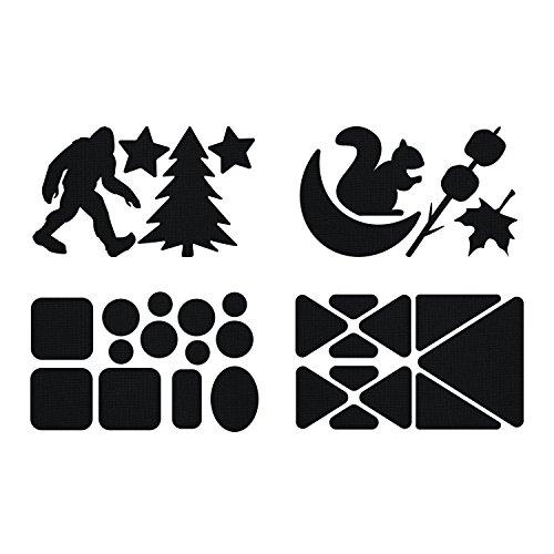 McNett Gear Aid Tenacious Tape Tattoos Happy Camper Dishwasher Safe Washable (Blätter Mit Camper Auf Sie)