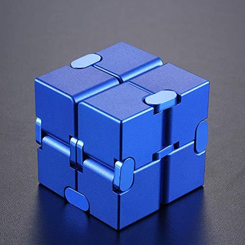 Wei Cubo Creativo De La Novedad Cubo De Aluminio Cuadrado