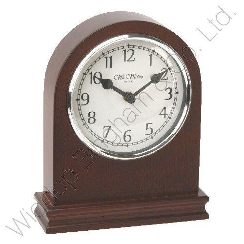 traditional-bold-mahogany-finish-quartz-mantel-desk-clock
