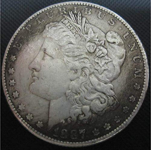 YunBest Best Morgan US Dollars (1804-1926) Münze, US-Dollar, US-Dollar, 1887